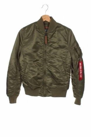 Ανδρικό μπουφάν Alpha Industries, Μέγεθος S, Χρώμα Πράσινο, Πολυεστέρας, Τιμή 55,05€