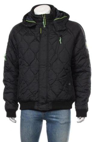 Ανδρικό μπουφάν Angelo Litrico, Μέγεθος XL, Χρώμα Μαύρο, Πολυαμίδη, Τιμή 29,88€