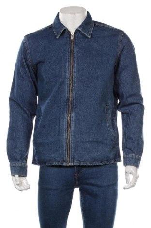 Мъжко яке Jack & Jones, Размер M, Цвят Син, 100% памук, Цена 54,45лв.