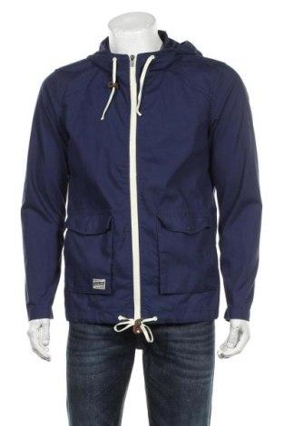 Ανδρικό μπουφάν Jack & Jones, Μέγεθος M, Χρώμα Μπλέ, 65% πολυεστέρας, 35% βαμβάκι, Τιμή 35,88€