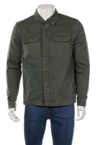 Мъжко яке New Look, Размер S, Цвят Зелен, Памук, Цена 46,50лв.