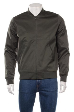 Мъжко яке Topman, Размер S, Цвят Зелен, Полиестер, Цена 53,72лв.