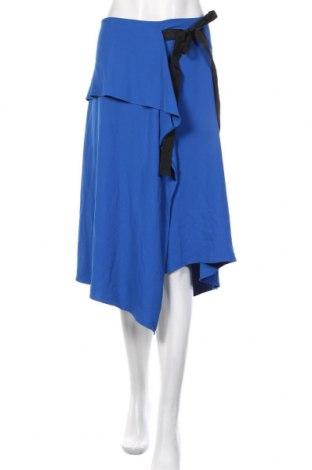 Φούστα Marks & Spencer, Μέγεθος XL, Χρώμα Μπλέ, 91% πολυεστέρας, 9% ελαστάνη, Τιμή 19,79€