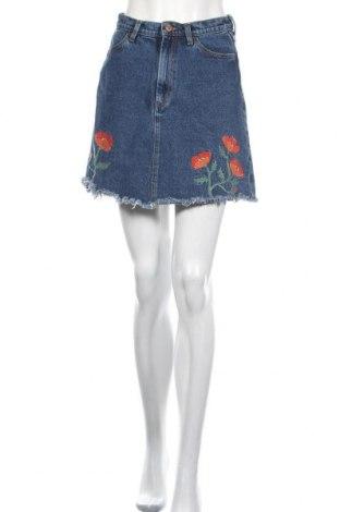 Φούστα Monki, Μέγεθος M, Χρώμα Μπλέ, 100% βαμβάκι, Τιμή 22,08€