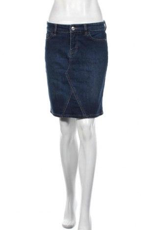 Φούστα Orsay, Μέγεθος M, Χρώμα Μπλέ, 79% βαμβάκι, 20% πολυεστέρας, 1% ελαστάνη, Τιμή 18,84€