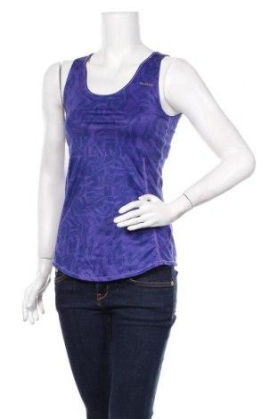 Tricou de damă Reebok, Mărime M, Culoare Albastru, 88% poliester, 12% elastan, Preț 54,28 Lei