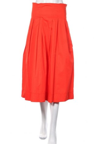 Φούστα Zara, Μέγεθος S, Χρώμα Κόκκινο, Βαμβάκι, Τιμή 23,51€