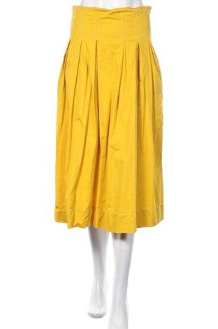 Φούστα Zara, Μέγεθος S, Χρώμα Κίτρινο, Βαμβάκι, Τιμή 25,98€
