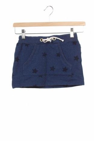Пола-панталон Name It, Размер 7-8y/ 128-134 см, Цвят Син, 57% памук, 38% полиестер, 5% еластан, Цена 24,00лв.