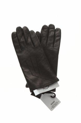 Mănuși Eem, Culoare Negru, Piele naturală, Preț 100,66 Lei