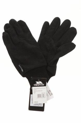 Mănuși Trespass, Culoare Negru, Poliester, Preț 71,58 Lei