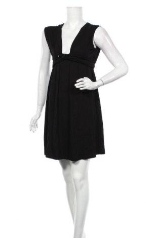 Rochie Vanessa Bruno Athé, Mărime S, Culoare Negru, 90% viscoză, 10% elastan, Preț 477,47 Lei