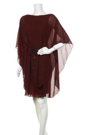 Φόρεμα Isabel De Pedro, Μέγεθος S, Χρώμα Καφέ, 58% βισκόζη, 20% μαλλί, 18% πολυαμίδη, 4% ελαστάνη, Τιμή 36,49€