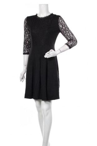 Φόρεμα Kaffe, Μέγεθος M, Χρώμα Μαύρο, 80% πολυεστέρας, 17% βισκόζη, 3% ελαστάνη, Τιμή 31,93€