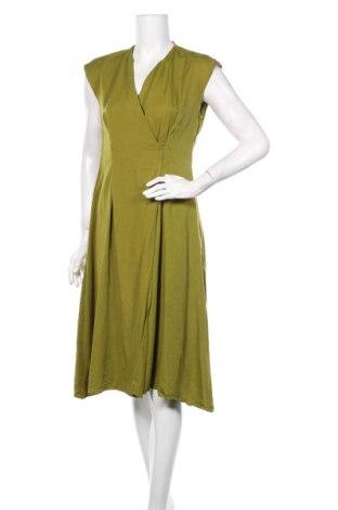 Рокля Mango, Размер M, Цвят Зелен, Тенсел, Цена 27,75лв.
