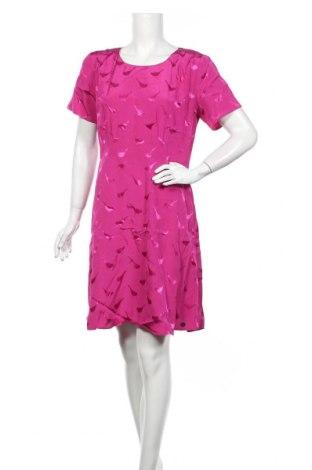 Рокля Numph, Размер L, Цвят Розов, Вискоза, Цена 104,30лв.