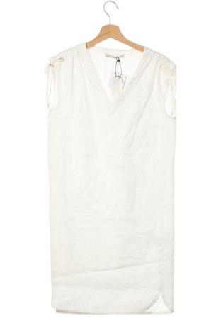 Рокля Oui, Размер XS, Цвят Бял, Лен, Цена 125,30лв.
