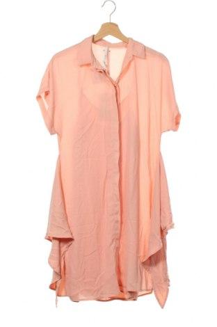 Рокля Pepe Jeans, Размер XS, Цвят Розов, Полиестер, Цена 119,25лв.