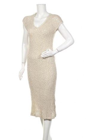 Šaty  Zara, Velikost M, Barva Krémová, 88% bavlna, 12% polyester, Cena  813,00Kč