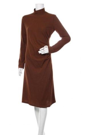Šaty  Zara, Velikost L, Barva Hnědá, Cena  491,00Kč