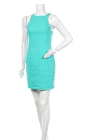 Šaty  Zara, Velikost S, Barva Zelená, 49% polyester, 47% bavlna, 4% elastan, Cena  467,00Kč