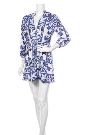 Sukienka Zara, Rozmiar M, Kolor Niebieski, 55% len, 45% wiskoza, Cena 85,50zł