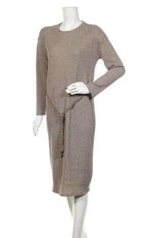 Sukienka Zara, Rozmiar S, Kolor Beżowy, 97% poliester, 3% elastyna, Cena 96,75zł
