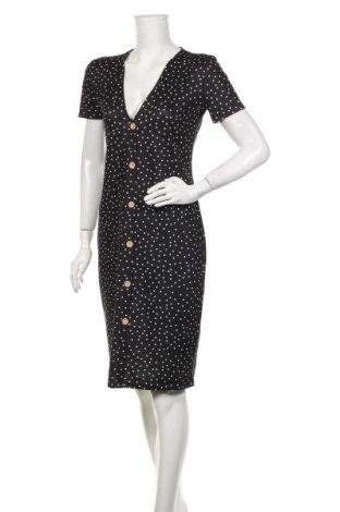 Sukienka Zara, Rozmiar L, Kolor Czarny, 96% poliester, 4% elastyna, Cena 155,25zł