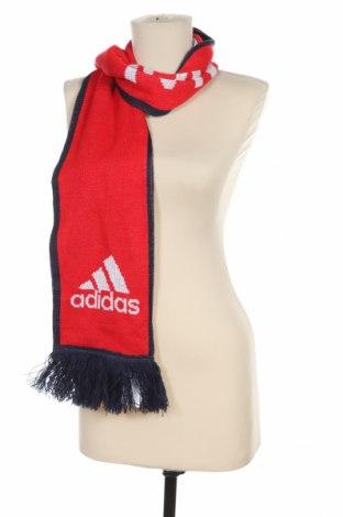 Шал Adidas, Цвят Червен, Акрил, Цена 22,05лв.