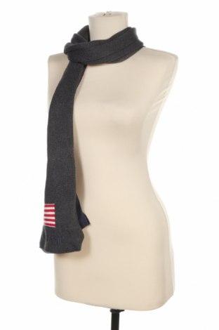 Шал U.S. Polo Assn., Цвят Сив, 90% памук, 10% кашмир, Цена 29,40лв.