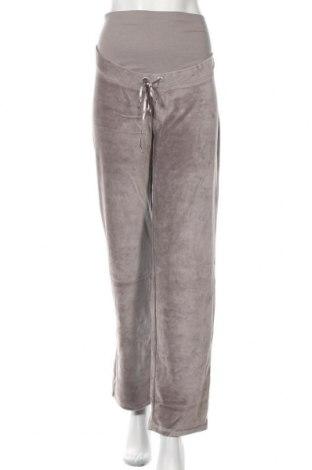Pantaloni trening pentru gravide. Belly Button, Mărime S, Culoare Gri, 80% bumbac, 20% poliester, Preț 177,70 Lei