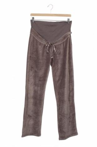 Pantaloni trening pentru gravide. Belly Button, Mărime XS, Culoare Gri, 80% bumbac, 20% poliester, Preț 189,71 Lei