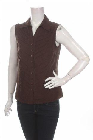 Γυναικείο πουκάμισο Dressbarn, Μέγεθος M, Χρώμα Καφέ, 60% βισκόζη, 40% πολυεστέρας, Τιμή 9,28€