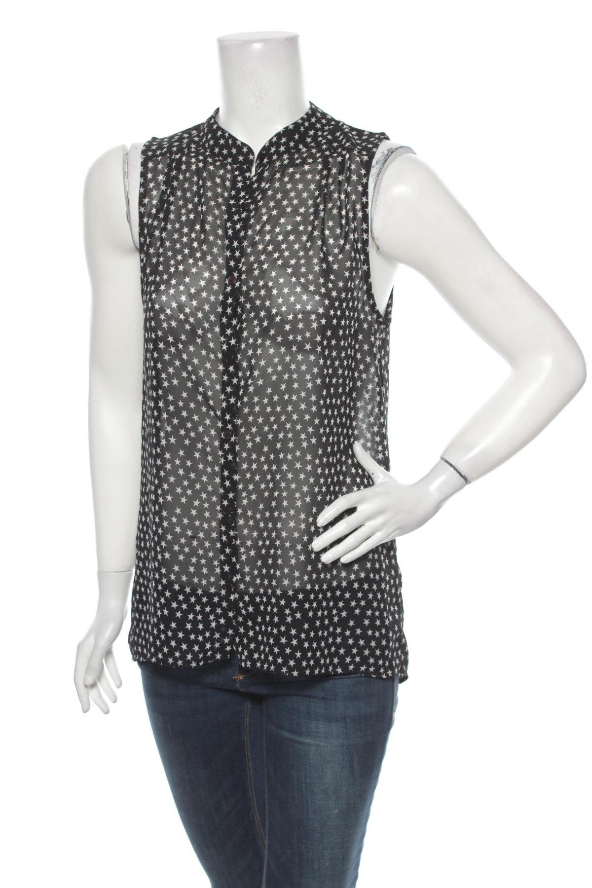 Γυναικείο πουκάμισο Sparkz, Μέγεθος M, Χρώμα Μαύρο, Πολυεστέρας, Τιμή 9,90€
