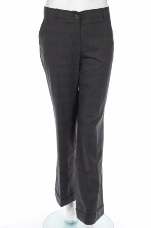 Дамски панталон Mark Adam, Размер L, Цвят Сив, 64% полиестер, 34% вискоза, 2% еластан, Цена 8,45лв.