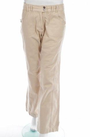 Γυναικείο παντελόνι New View, Μέγεθος XL, Χρώμα  Μπέζ, 100% βαμβάκι, Τιμή 7,58€