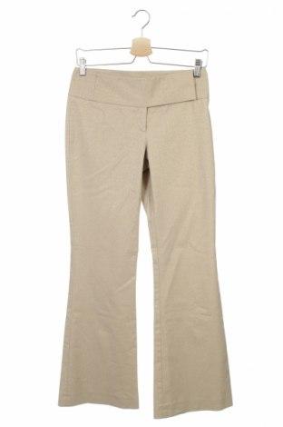 Дамски панталон Oasis, Размер XS, Цвят Бежов, 65% памук, 23% полиестер, 10% метални нишки, 2% еластан, Цена 10,35лв.