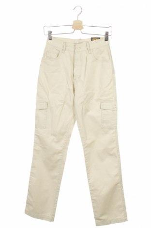Дамски панталон Stress, Размер XS, Цвят Бежов, 100% памук, Цена 17,25лв.