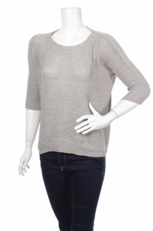 Дамски пуловер Amisu, Размер S, Цвят Сив, 57% полиакрил, 43% полиестер, Цена 10,58лв.