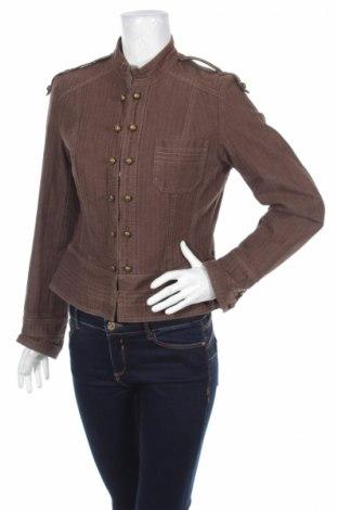 Дамско яке H&M, Размер S, Цвят Кафяв, Памук, Цена 10,60лв.