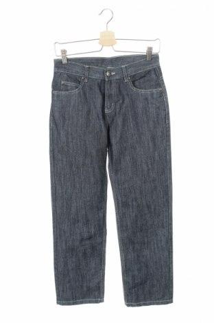 Детски дънки Okay, Размер 11-12y/ 152-158 см, Цвят Син, 70% памук, 30% полиестер, Цена 10,00лв.