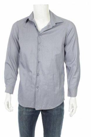 Мъжка риза Andrews, Размер M, Цвят Син, 80% памук, 20% полиестер, Цена 7,00лв.
