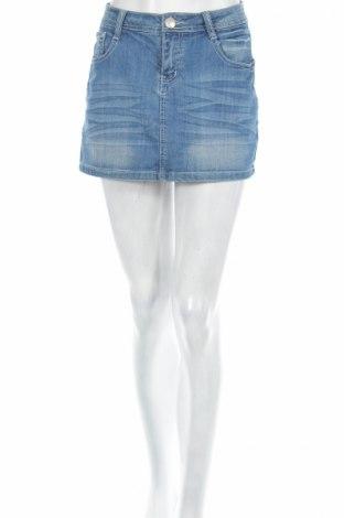 Пола Cindy H., Размер M, Цвят Син, 98% памук, 2% еластан, Цена 6,30лв.
