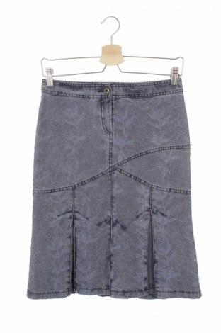 Φούστα Kensol, Μέγεθος XS, Χρώμα Μπλέ, 100% βαμβάκι, Τιμή 7,82€