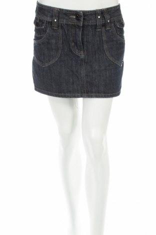 Φούστα X-Mail, Μέγεθος S, Χρώμα Μπλέ, 70% βαμβάκι, 30% πολυεστέρας, Τιμή 5,78€