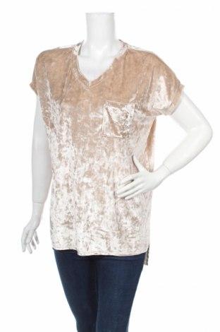 Дамска блуза Abound, Размер M, Цвят Бежов, 5% полиестер, 5% еластан, Цена 3,02лв.