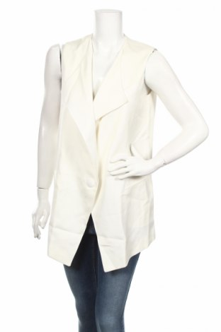 Γυναικείο γιλέκο Belair, Μέγεθος S, Χρώμα Λευκό, 99% βισκόζη, 1% ελαστάνη, Τιμή 29,85€