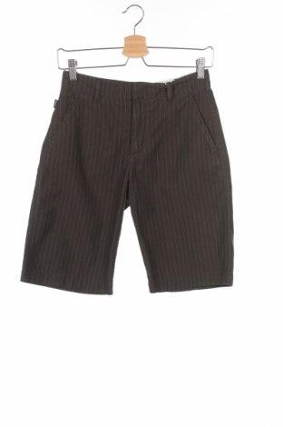 Дамски къс панталон Franklin & Marshall, Размер S, Цвят Зелен, Памук, Цена 19,50лв.