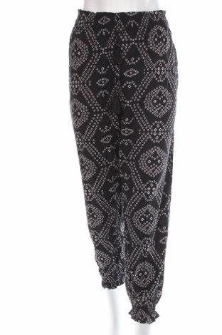 Дамски панталон Antik Batik, Размер L, Цвят Черен, Вискоза, Цена 44,70лв.