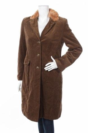 Дамско палто Kemper, Размер M, Цвят Кафяв, Памук, Цена 20,50лв.